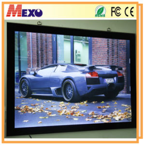Custom Photo Frames Aluminum Snap Frame with LED Light pictures & photos