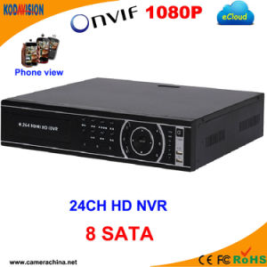 24 Channel H. 264 Standalone 8SATA Digital NVR Recorder pictures & photos