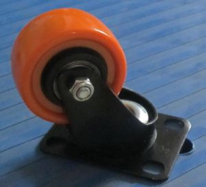 2 Inch Orange PU Height Quality Caster Wheel pictures & photos