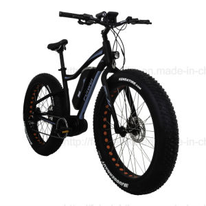 Crank Motor Beach Cruiser Electric Fat Bicycle pictures & photos