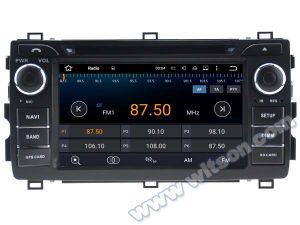 Witson Android 5.1 Car DVD GPS for Toyota Auris 2013 with Chipset 1080P 16g ROM WiFi 3G Internet DVR Support (A5534) pictures & photos