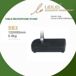 Ajustable Table Microphone Stand Base (SB3) pictures & photos