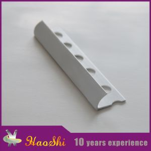 PVC Flexible Plastic Tile Trim for 6-12mm Height pictures & photos