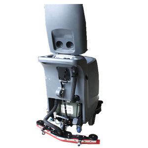 Hand Push Electric Floor Scrubber for Supermarket. pictures & photos