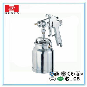 Wall Suction Feed Type 1000ml Nozzle Size 1.4mm-2.0mm HVLP Spray pictures & photos