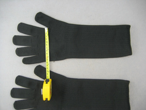 Steel Wire Anti-Cut Level 4 Glove-2356 pictures & photos