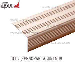 Anti Slip Champagne Color Stair Nosing pictures & photos