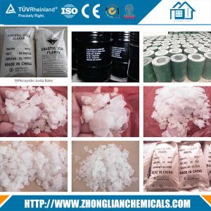 Caustic Soda Flakes/Caustic Soda/ Sodium Hydroxide 99% 96% 90% pictures & photos