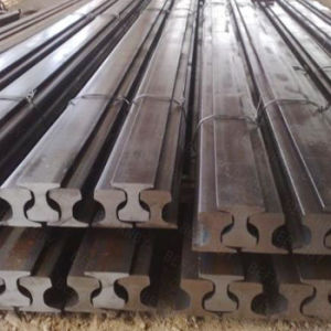 High Efficiency Heavy Railroad Crane Steel Rail with Ce Approved pictures & photos