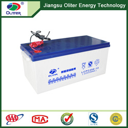 12V250ah AGM Rechargeable Deep-Cycle Gel Battery pictures & photos