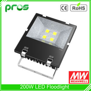 High Brightness 200W Meanwell Diver LED Floodlight Luminaire pictures & photos
