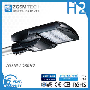 80W Ce RoHS Cobra Head Road Light Dimmable pictures & photos