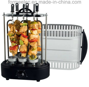 Vertical Electric Kebab Grill for Poultry Beef Fish Meat pictures & photos
