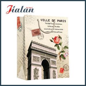 Custom Pantone Color Logo Wholesales Cheap Promotion Printed Paper Bag pictures & photos