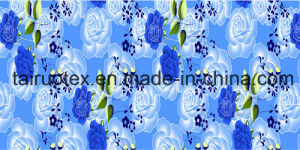 Floral Printed Bedsheet of Tc Fabric pictures & photos