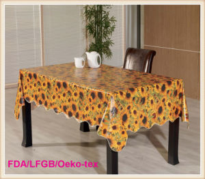 Cheap PVC Table Cloths Outdoors Picnic in Rolls pictures & photos