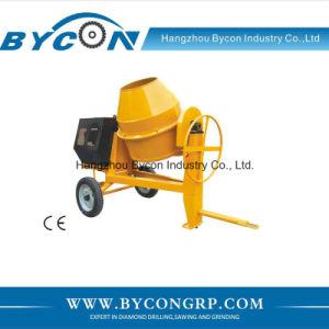 BC-350-4 350L large drum construction machine concrete mixer prices with Honda GX160 pictures & photos
