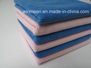 Microfiber Car Cleaning Towel Kitchen Towel pictures & photos