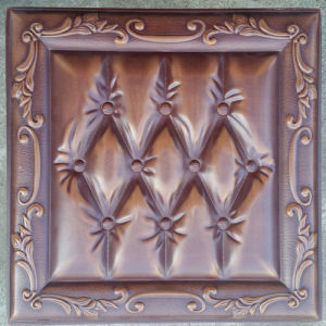 Luxury 3D PU Leather Wall Panel for Decoration (HS-MK011) pictures & photos