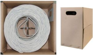 305m Box UTP CAT6 Solid Bare Copper Ethernet LAN Cable pictures & photos