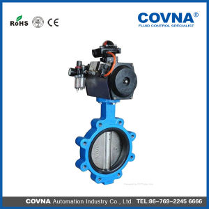 Lug Type Pneumatic Butterfly Valve pictures & photos