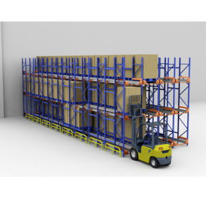 Professional Manufacturer Radio Shuttle Racking pictures & photos