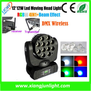 Mini LED Stage Light 7X12W LED Moving Head Light Stage Lighting pictures & photos