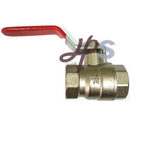 CE Approved Brass Ball Valve Full Port with Nickel Surface pictures & photos