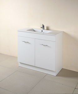 Australia Style MDF Bathroom Vanity with Mirror (SW-B750KW) pictures & photos