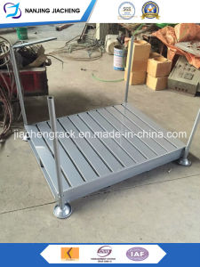 Popular Style Steel Stacking Pallet by Powder Coated pictures & photos