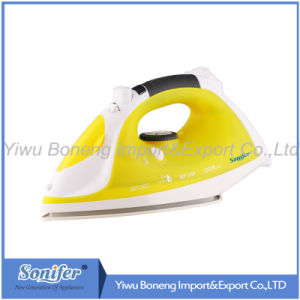 Electric Steam Iron Si106-792 Electric Iron with Ceramic Soleplate (Yellow)