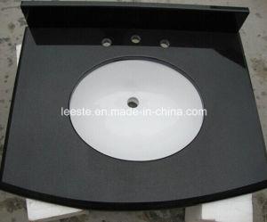 Absolute Black Granite Building Material, Granite Tile and Granite Vanity Top pictures & photos