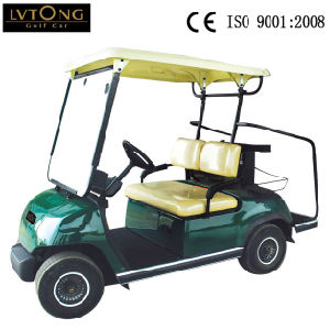 Whole Sale 2 Seaters Electric Golf Car Wedding Car pictures & photos