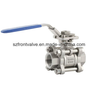 3PC Socket Weld Ball Valve-Precision Casting Ball Valve pictures & photos