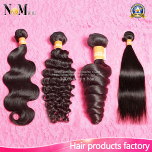 Wholesale Unprocessed Natural Human Hair / 100% Virgin Brazilian Hair pictures & photos