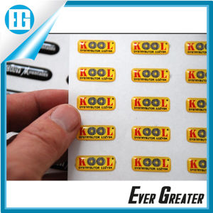 UV Resistant 3D Domes Label Stickers pictures & photos