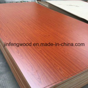ISO9001: 2008 Size 4.75mm Cherry AAA Grade Decorative Melamine MDF pictures & photos