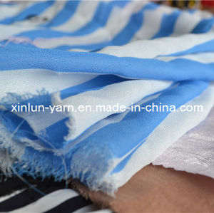 Polyeste Chiffon Fabric for Scarf Sheet Curtain Clothes pictures & photos