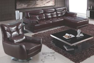 Morden Furniture with Good Price Leather Sofa pictures & photos