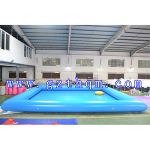 Giant Colorful Outdoor Amusement Play Park, 0.65mm PVC Inflatable Water Swimming Pool, Commercial Water Pool pictures & photos