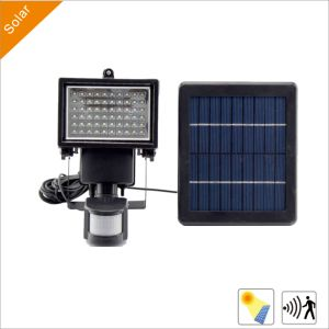 3W Outdoor Solar LED Garden Street Lights with Solar Panel (motion Sensor)