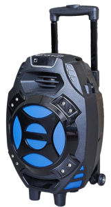 8inch Portable Speaker Guitar-in Trolley Speaker with Card Reader Slot Q7s-16 pictures & photos