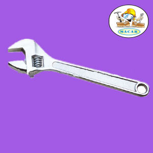 "12"" Drop Forged Adjustable Wrench with Chrome Plated"