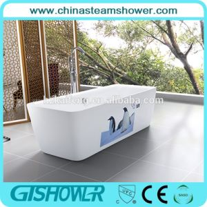 Rectangle Shape Acrylic Free Standing Bathtub (BL1003E) pictures & photos
