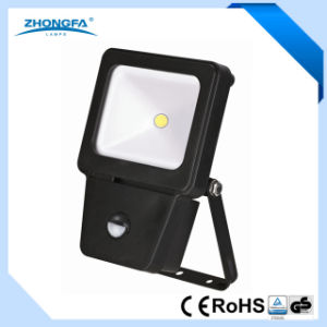10W LED Floodlight with Motion Sensor pictures & photos