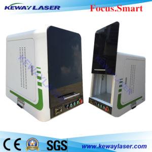 Unique Design Automatic Fiber Laser Marking System pictures & photos