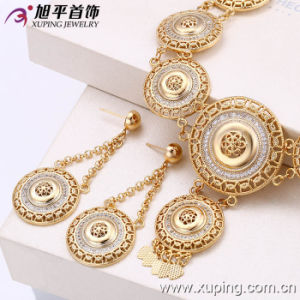 Fashion Jewelry 18k Gold Plated Jewelry Set (62740) pictures & photos