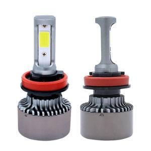 Factory Wholesale New Powerful Bridgelux COB Chip (USA) Car LED Headlight H4 Hi/Lo Beam 72W 8000lm Auto LED Light pictures & photos