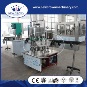 Automatic Linear Type Can Filling Line for Non Gass Beverage pictures & photos