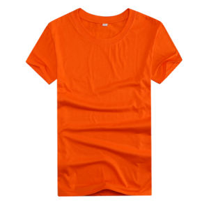 Custom Printed Your Logo Polyester Cheapest Shirt for Promotional pictures & photos